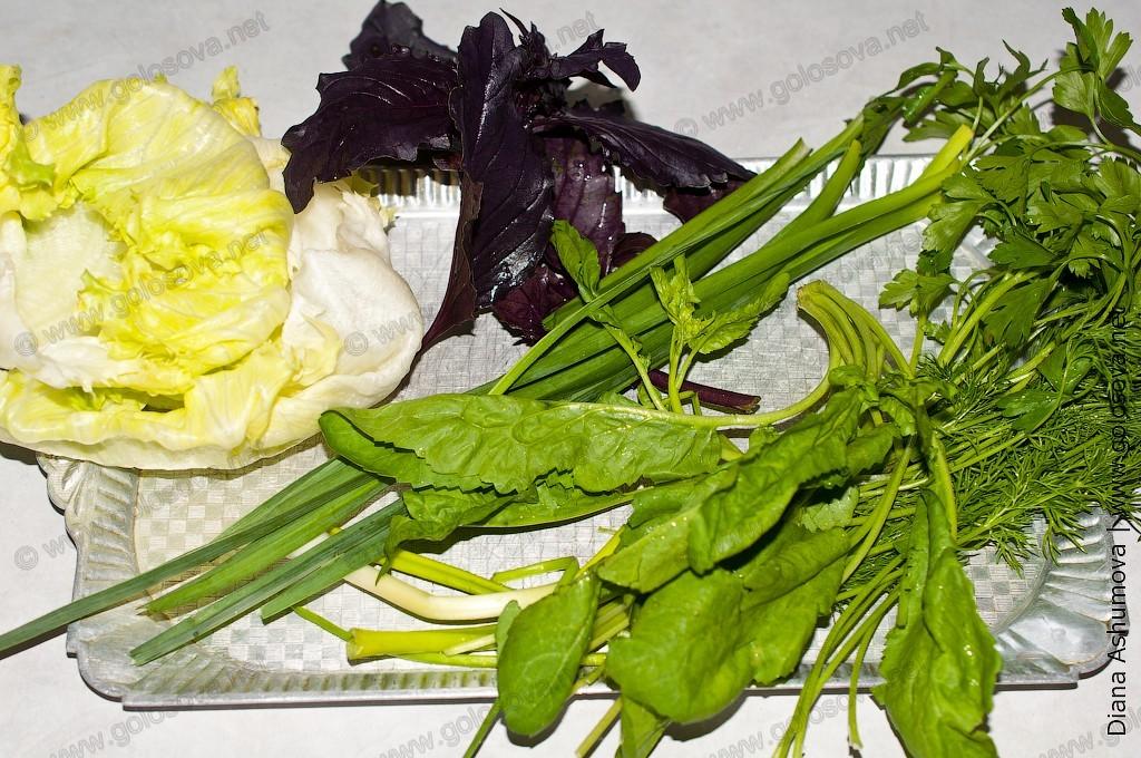 фото зелени: кресс-салат, укроп, петрушка, кявяр, рейхан, листья салата