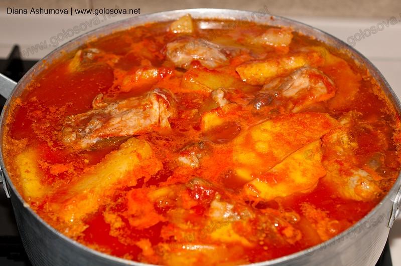 Филе куриное с картошкой тушеное в кастрюле рецепт