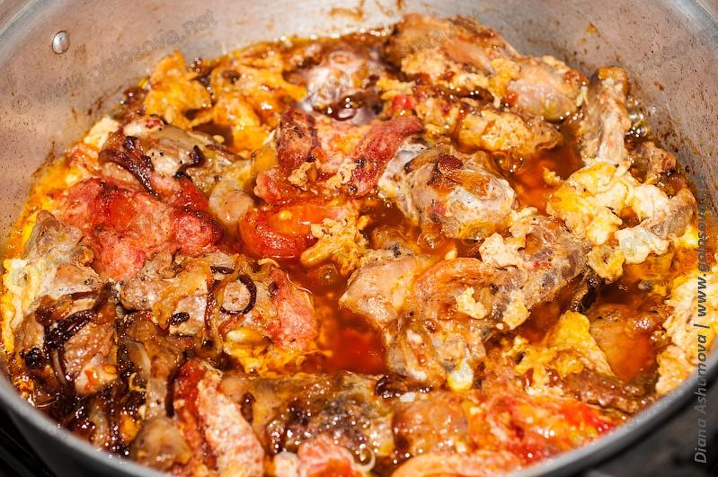 чихиртма из курицы по азербайджански