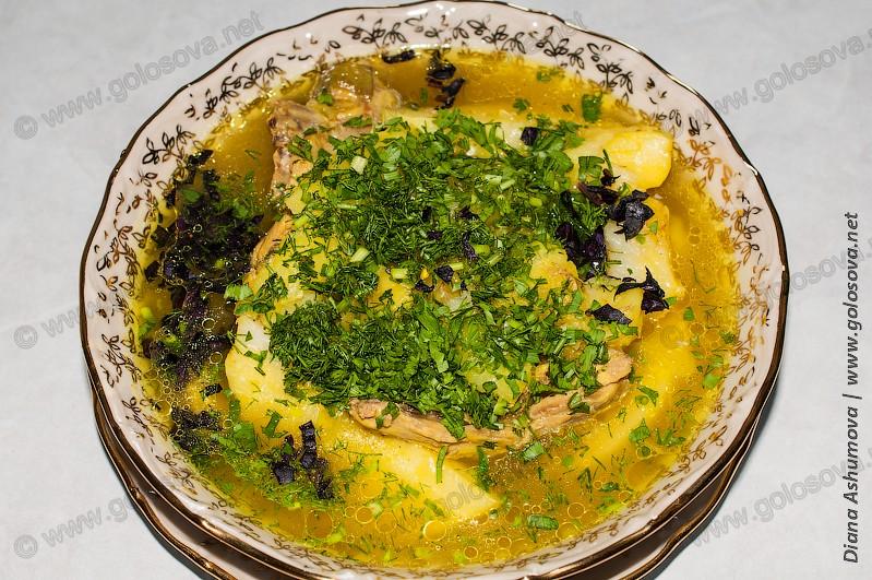овощное рагу с курицей и баклажанами