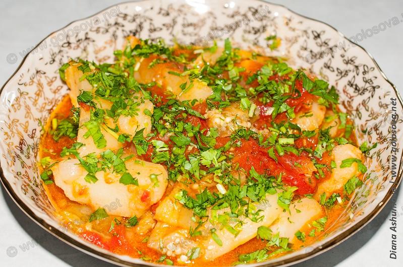 Овощное рагу рецепт из баклажанов