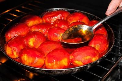картошка в томатной пасте в духовке