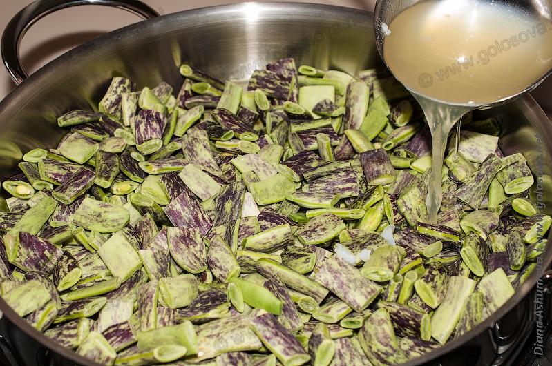 Лобио из зеленой фасоли рецепт пошагово