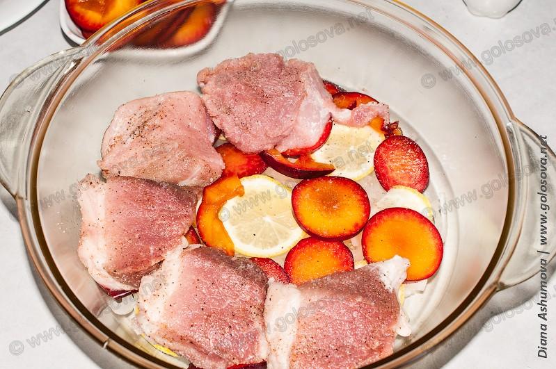 кусок мяса в духовке рецепт с фото из свинины