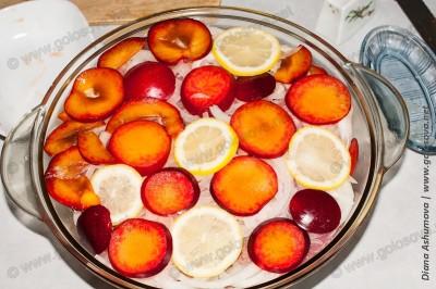 маринад с лимоном и алычой для свинины