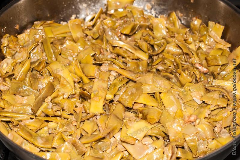 стручковая фасоль на гарнир рецепты приготовления с фото
