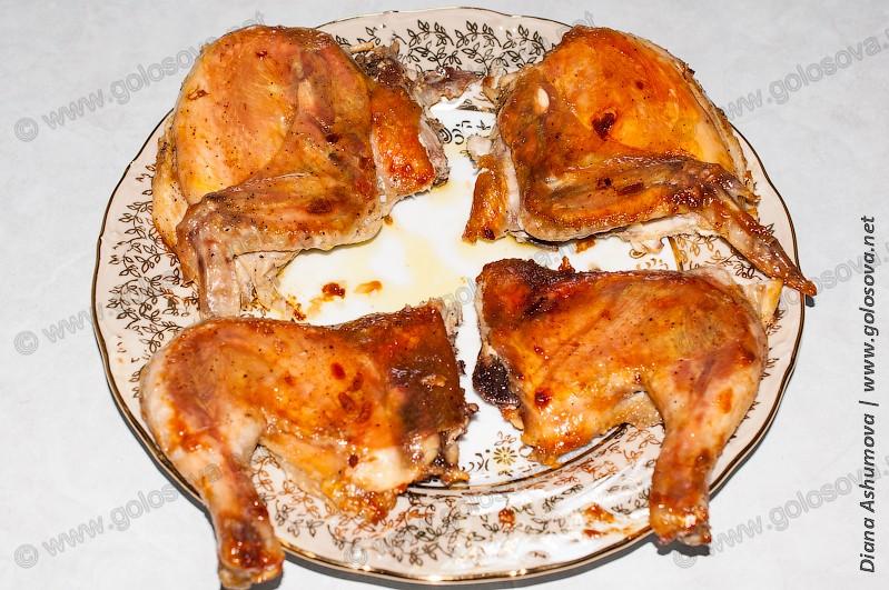 Цыпленок табака в мультиварке рецепт с фото