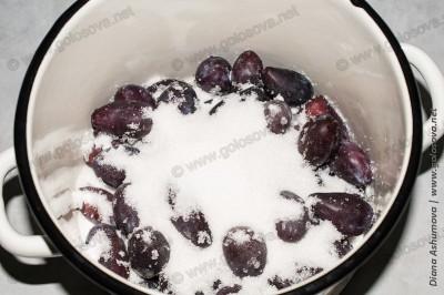 как варить компот из слив