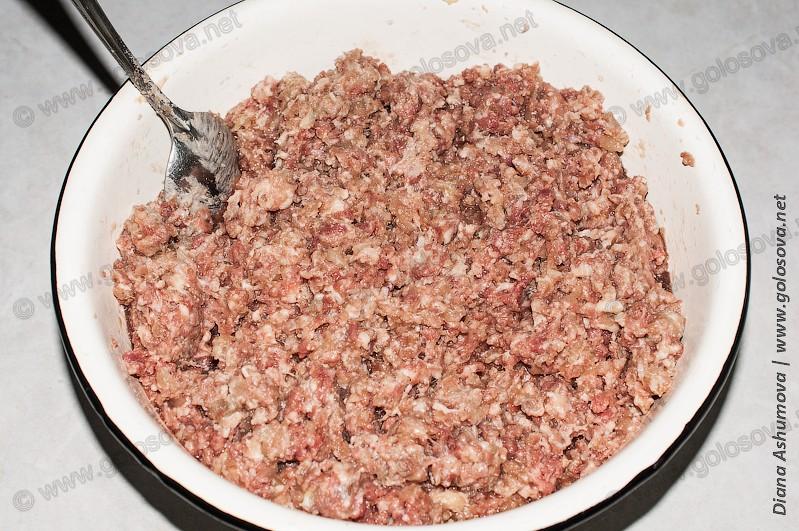мясной фарш из говядины