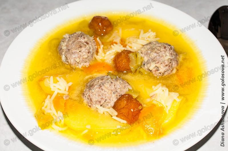рецепт супа из бараньей ноги