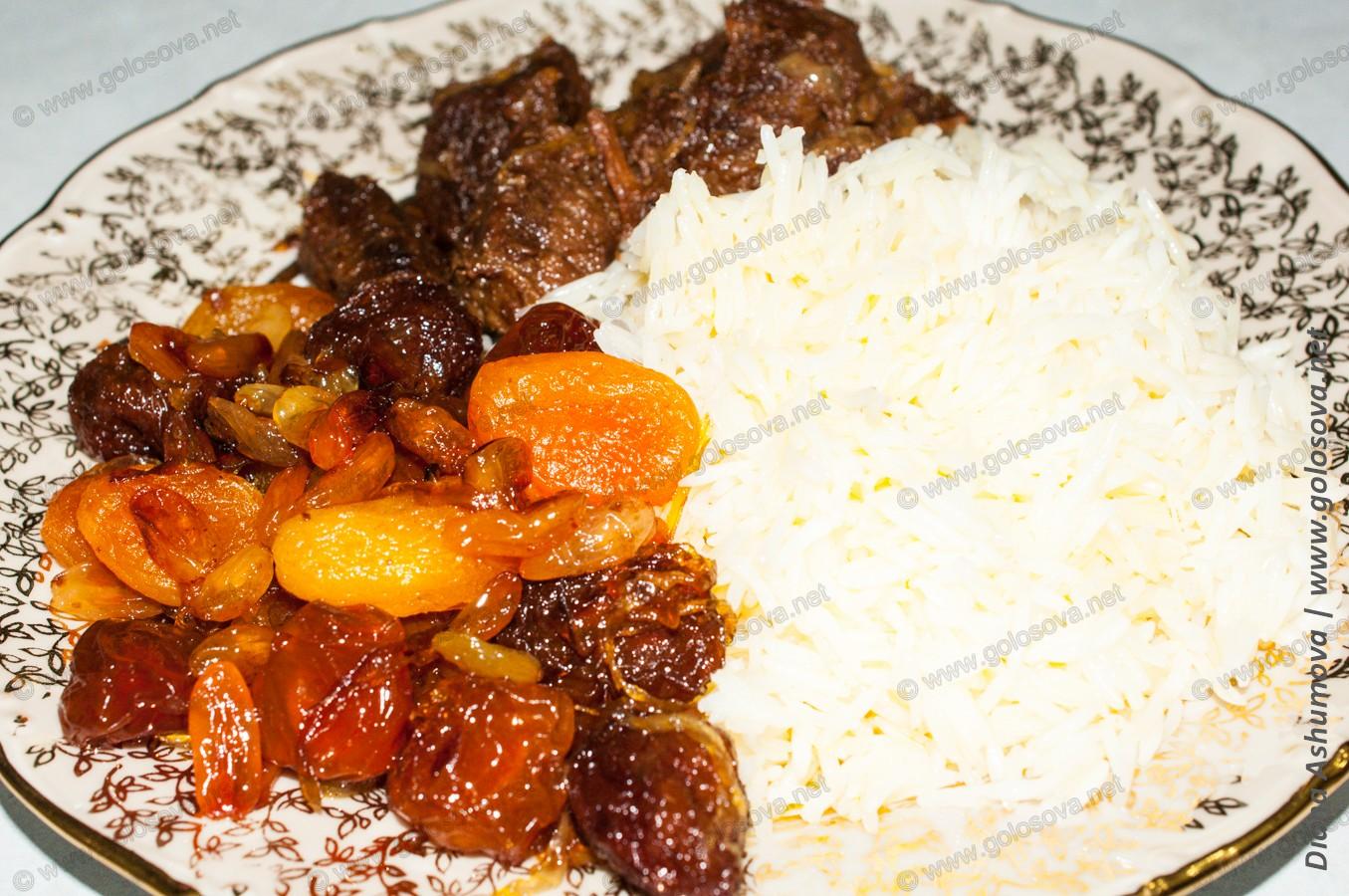 Азербайджанский плов с бараниной рецепт пошагово
