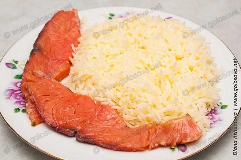 фото семги с рисом