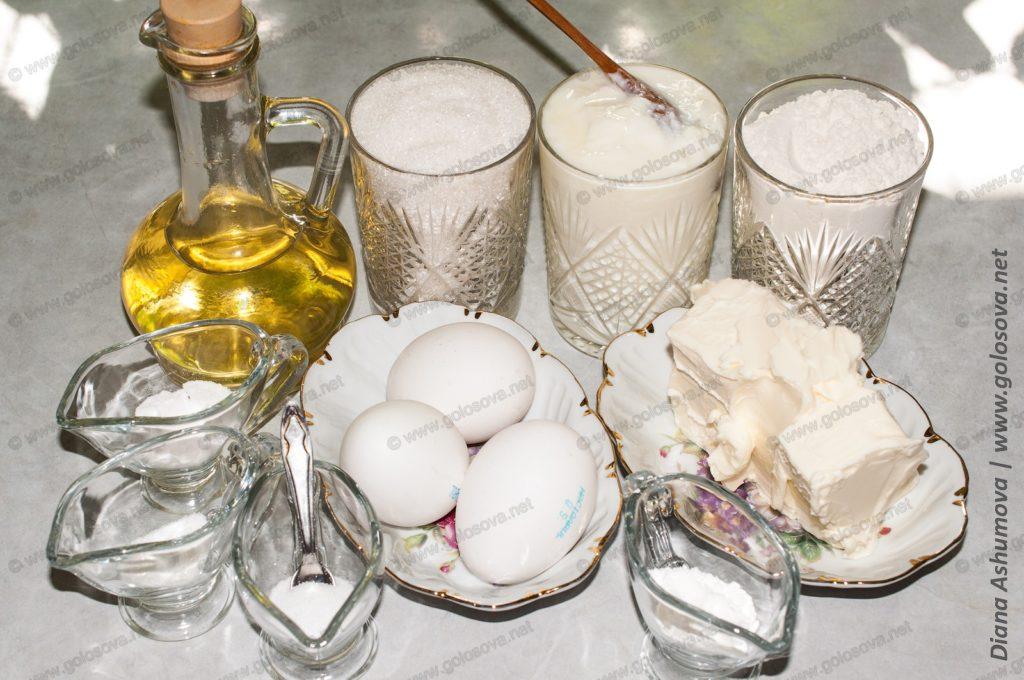 продукты для торта Анечка