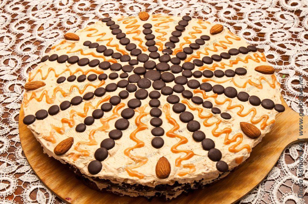 торт мужской идеал с грецкими орехами