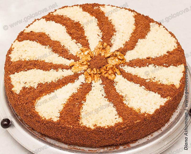 торт Мужской Идеал с орехами