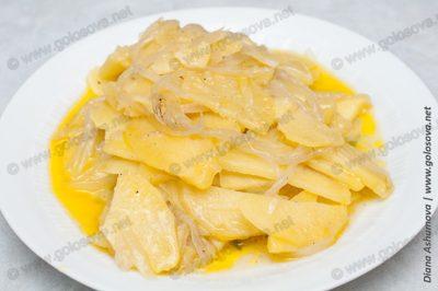 вкусная тушеная картошка