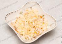 салат из квашенной капусты лука и масла