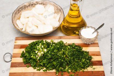 как приготовить салат из белой редьки
