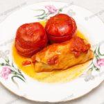 Фаршированные помидоры с фаршем. Рецепт с фото.