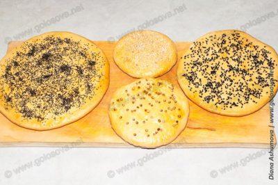 пресные лепешки вместо хлеба