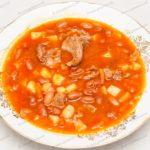 Как приготовить фасолевый суп? Суп с фасолью. Рецепт с фото.