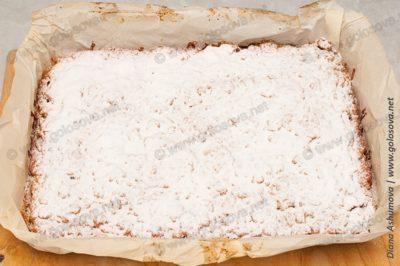 вкусный песочный пирог с яблоками