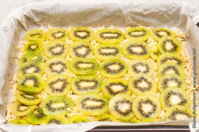 пирог с киви из песочного теста
