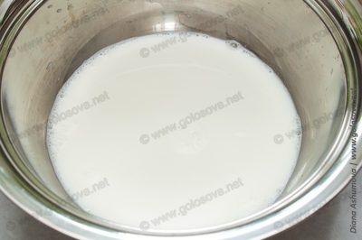теплое молоко для дрожжевого теста на пирожки