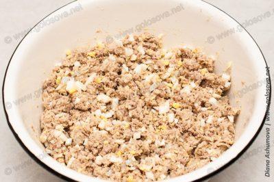 начинка для пирожков с мясом и яйцом