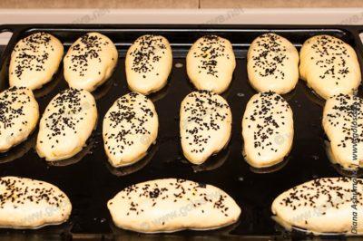 пирожки с мясом и яйцом в духовке