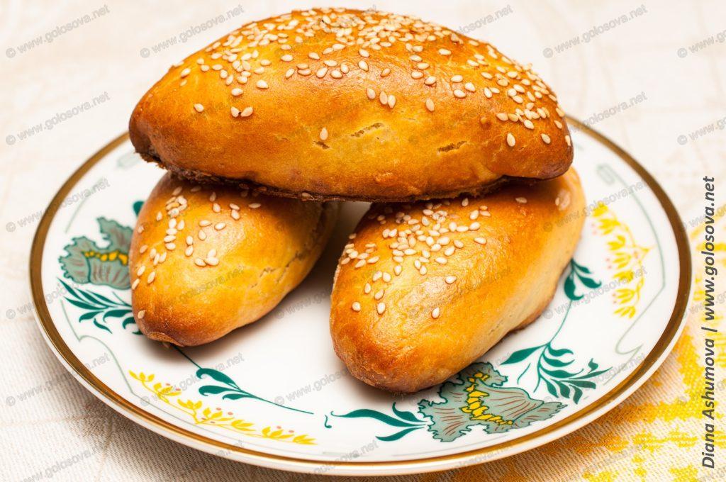 пирожки с картошкой на сухих дрожжах