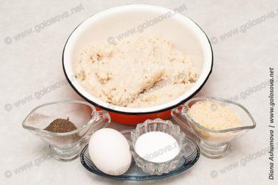 ингредиенты на фарш для фрикаделек