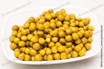 консервированный зеленый горошек