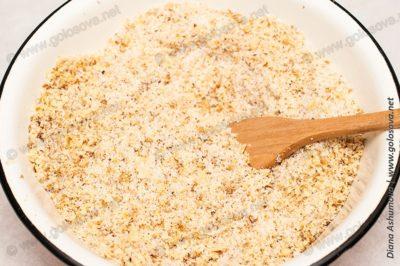 ореховая начинка с сахаром