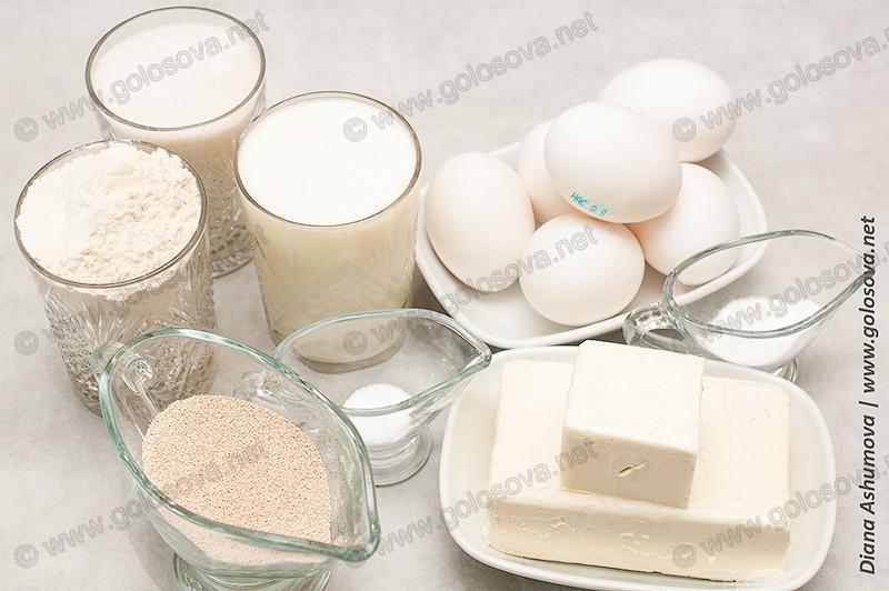 ингредиенты на тесто для кулича
