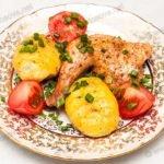 Курица в духовке со специями. Рецепт с фото.