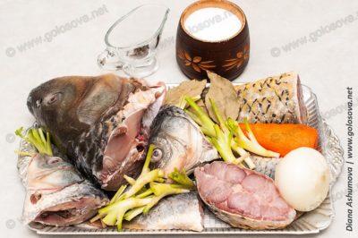 компоненты для рыбного бульона