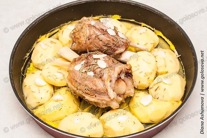 приготовление свиной рульки в духовке