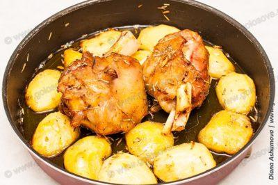 запекание свиной рульки в духовке
