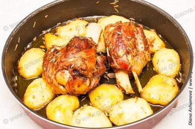 приготовление рульки свиной на кости в духовке