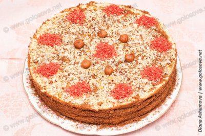 торт Генерал с орехами