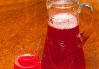 рецепт компота из красной смородины