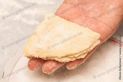 печенье гусиные лапки из творога