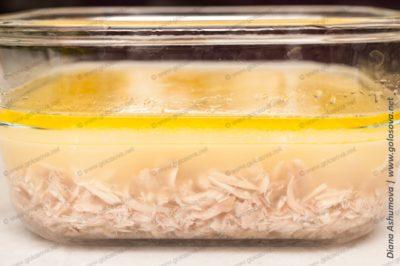 как разводить желатин для холодца из курицы