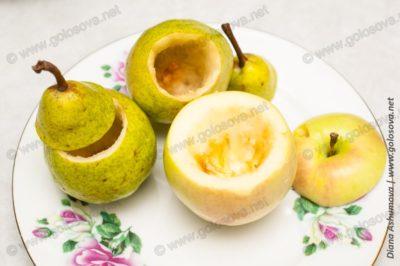 яблоки и груши для начиненния