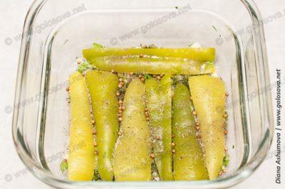 рецепт маринованного болгарского перца
