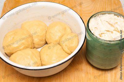 песочное тесто и масляный крем