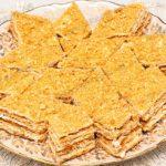 Пирог из песочного теста с масляным кремом. Рецепт с фото.