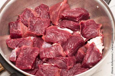 сырая говядина