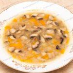Куриный суп с грибами. Рецепт с фото